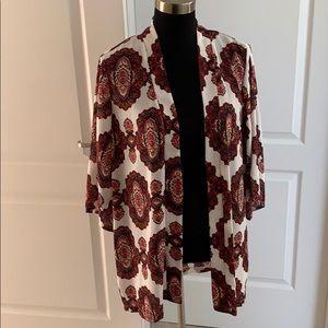 Ladies Kimono Jacket-Size L NWT